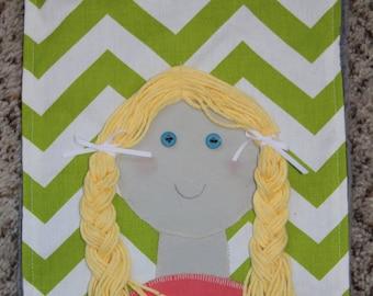 Little Yarn Girl Activity Roll
