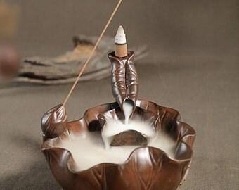 Lotus Pond Incense Burner/holder