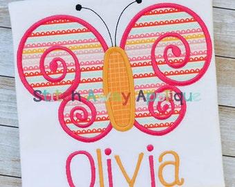 Customized Butterfly Onesie