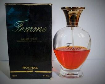 Toilet water woman de Rochas 100 ml bottle