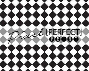 "5ft x 5ft ""Racing Checkers"" Vinyl Backdrop // Vinyl Backdrops // Vinyl Photography Backdrop // Black & White Painted Backdrops (PP356)"