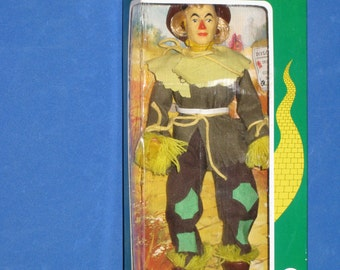 1974 MEGO Wizard of Oz Scarecrow Action Figure Doll in Original Box