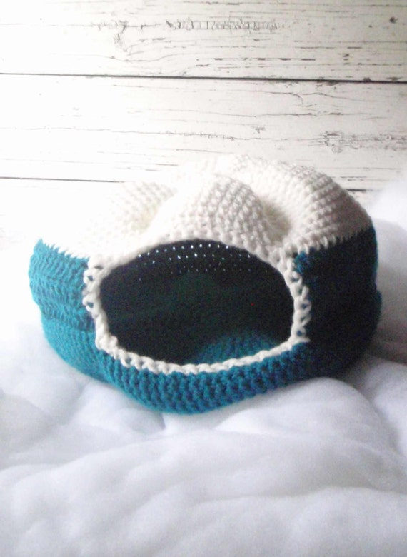cat bed, cat nest, cat cave, crochet cat bed, crochet cat ...