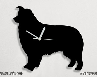 Australian Shepherd Dog - Wall Clock
