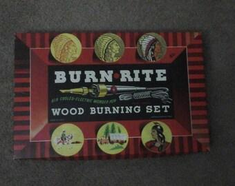 Burn Rite Wood Burning Set