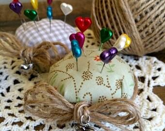pincushion - cupckes to pin - almofadinha para alfinetes