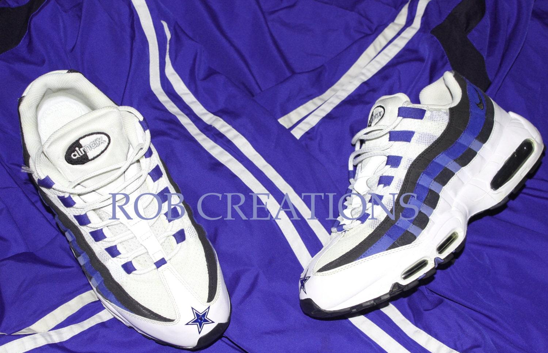 95 Dallas Cowboys Air Max Shoes  c423b5fdd4b3e