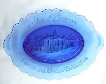 Vintage Avon Mount Vernon George and Martha Washington Collector Plate