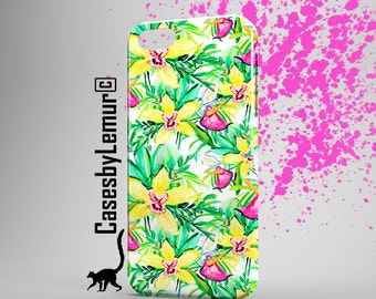 FLORAL Iphone 6 case Watercolor Iphone 5 case Spring Iphone 6 plus case Palm Iphone 5C case Mint Iphone 5s case Nature Iphone case cover