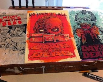 living dead trilogy in colour