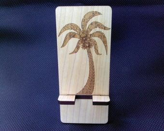 Cell Phone Stand - Palm Tree