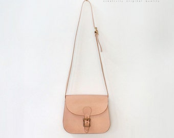 Handmade  Leather  Bag  shoulder bag women bag vintage bag