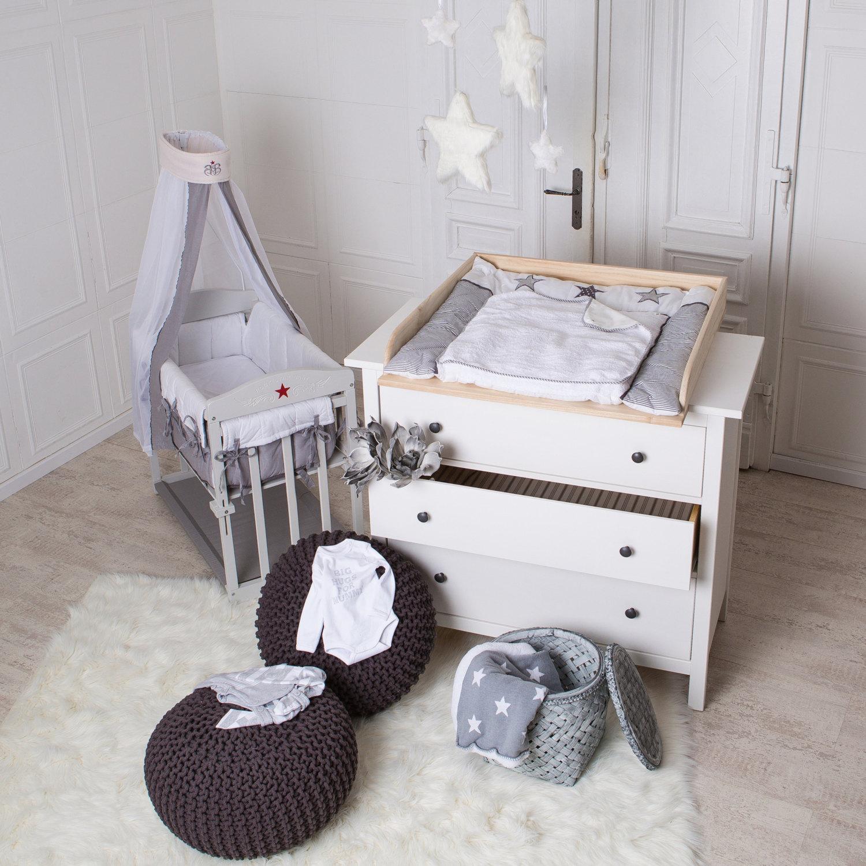 Naturholz Wickelaufsatz Wickeltischaufsatz Fur IKEA Hemnes