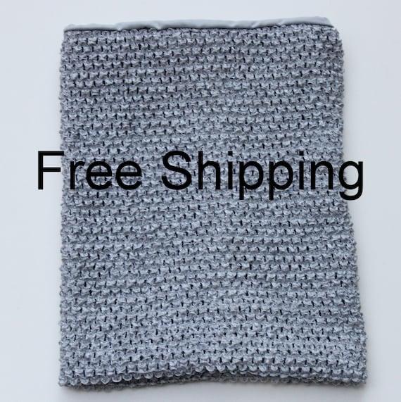 12 Inch Lined Silver Tutu Top Grey Tutu Top Silver Crochet Tutu