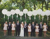 """10pack 27"""" round balloons weddings balloons super large round balloons party supplies big balloons"""