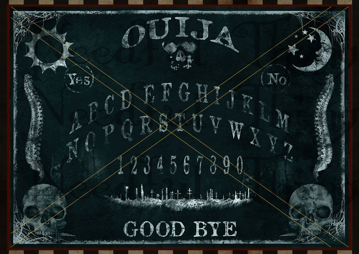 This is a picture of Astounding Printable Ouija Board