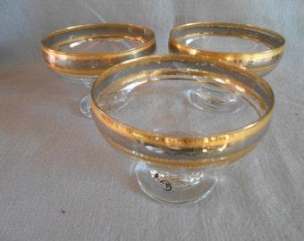Antique Etched Grape Vine Water Set Tumblers Glasses