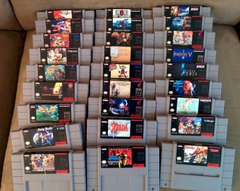 Any 5 SNES Games for 110 - Save 110 Dollars!