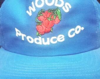 Woods Produce Co. Snapback Hat