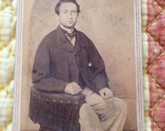 1864-1866 CDV w/tax stamp