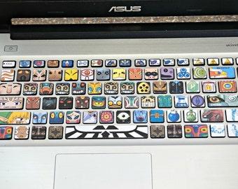Legend of Zelda: Villains keyboard decal (for Asus)
