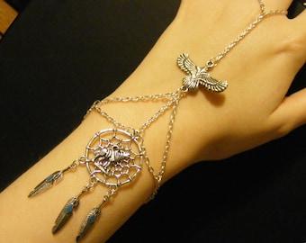 Dreamcatcher bracelet, dreamcatcher jewelry, wolf bracelet, wolf jewelry, owl bracelet, owl jewelry, fashion bracelet, fashion jewelry