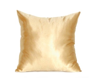 Beige Pillow Covers, Satin Throw Pillow, Pillow, Decorative Pillows, Decorative Pillows For Couch, Decorative Pillow, cushion cover