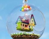 Sale 12cm Hanging Glass Terrarium Kit, DIY UP Glass House