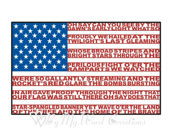 american flag art united states flag word art by