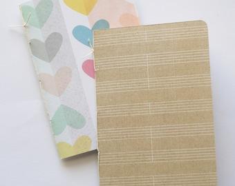 Little Notebooks - Hearts