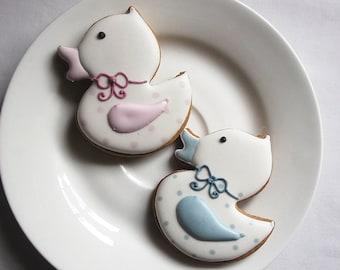 10 Duckie Baby Shower Cookies / Biscuits