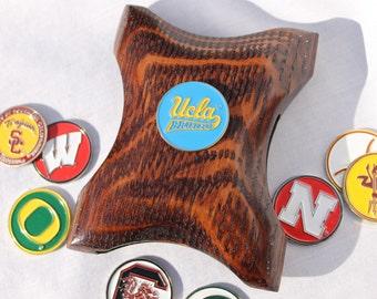 UCLA Wallet Money Clip, Bruins wallet, UCLA Money clip, Bruins money clip, cool money clip, wood wallet