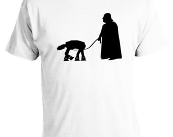 Darth Vader Walking AT-AT T Shirt