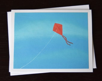 Flying Kite Painting Notecard Set