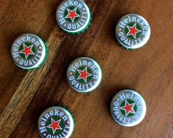 Heineken Beer Cap Magnets