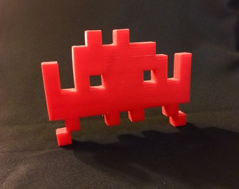 Space Invaders Alien 25 Point 3D Model