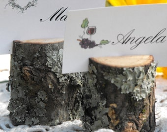 Tree Branch Rustic Name Card Holders ~ 150 qty ~Woodland  Wedding decoration ~ Baby shower ~ Birthday's ~ Reunions ~ bbq Parties ~ Meetings