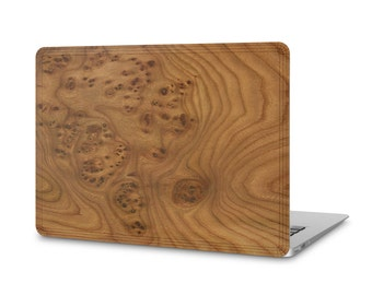 MacBook Air #WoodBack Real Wood Skin - Carpathian Elm Burl (FREE and Fast Delivery)