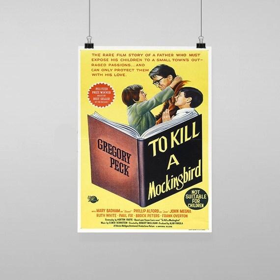 To Kill A Mockingbird Movie Poster Reproduction Vintage