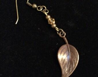leaf earrings II