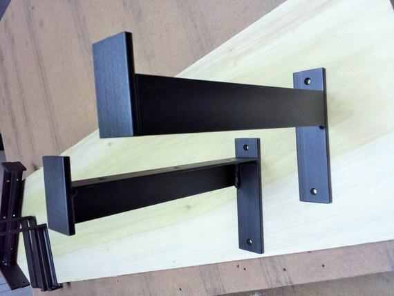 10 Industrial Heavy Duty Shelf Bracket Metal Angle