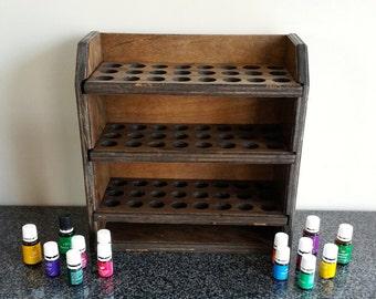 Essential oil storage shelf ( holds 72 bottles) ***