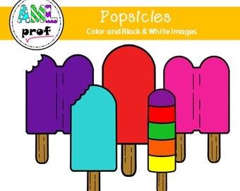 Popsicles Clip Art (summer, summer, pop gloss)