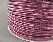 SOUTACHE BRAID - Eosin (A087) - 3 meters of CHUBBY rigid nylon soutache 3mm wide. Top quality soutache braid for jewelry making