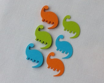 Dinosaur Confetti 60 Pieces // Dino Birthday Party Table Scatter Decor