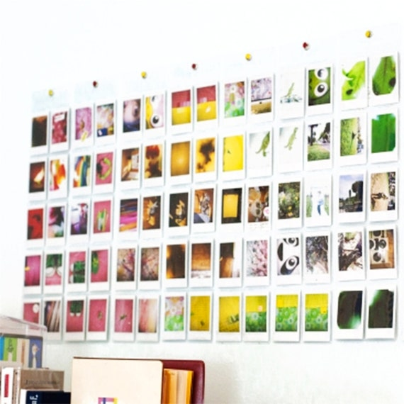 mur de poche photo album fujifilm instax mini film porte. Black Bedroom Furniture Sets. Home Design Ideas