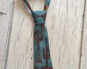 Infant/Todler Western Neck Tie