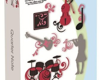 QUARTER NOTE Cricut Cartridge ~ Factory Sealed & Ready to Ship ~ Work with ALL Cricut Machines