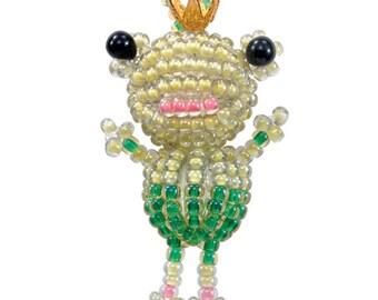 Miyuki Beaded Frog Charm Kit