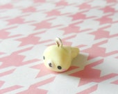 Polymer Clay Yellow Mamegoma Charm